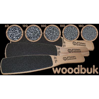 Деревянные тёрки для ног из бука WOODBUK от Mowe Professional