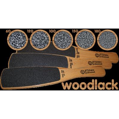 Деревянные тёрки из бука WOODLACK от Mowe Professional