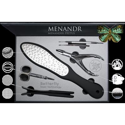 Набор для маникюра и педикюра Menandr 710 pk